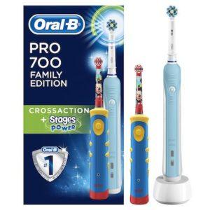 brosse à dents électrique familiale