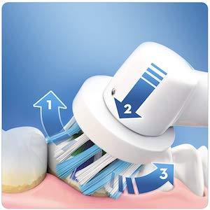 brosse à dents électrique rotative oral b