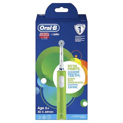 Test brosse à dents électrique pour enfants Oral-B Junior