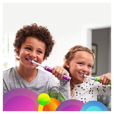 Une brosse électrique spécialement conçue pour les enfants de 6 ans et plus