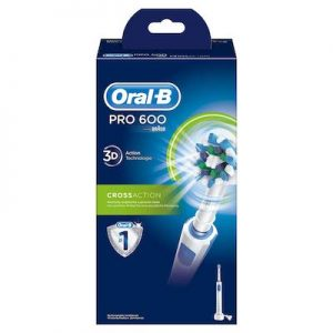 Test de la brosse Oral-B Pro 600