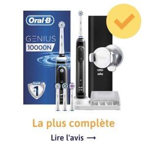 La brosse à dents électrique la plus fonctionnelle